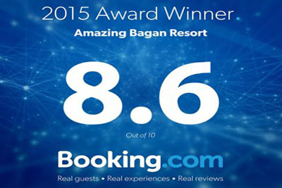 Award of excellent (8.6) By Booking.com