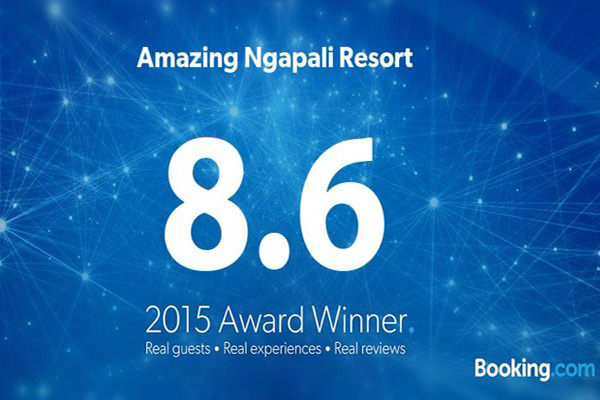 Guest Review Award (8.6) By Booking.com